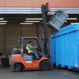Collecte des déchets, ESAT La Gibaudière (AAPAI)
