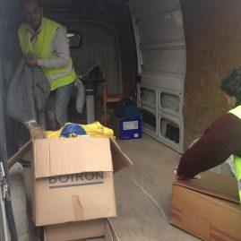Ressourcerie des Biscottes: véhicule de collecte